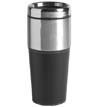 04004-01 - 16 oz. Stainless Steel Leather Grip Tumbler