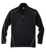 1610A - Men's LS 1/2 Zip Mock