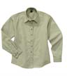 635A - Ladies' Long Sleeve EZCare Woven