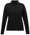 78192 - Ladies' Pinnacle Performance Long Sleeve Pique Polo