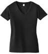 AA6046 - Ladies' Blended Jersey V-Neck Tee