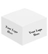 BLK-ICO-114 - Large Half Cube Notepad
