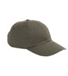 BX001A - 6-Panel Brushed Twill Unstructured Cap