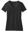 DM1190L - Ladies' Perfect Blend V-Neck Tee