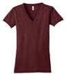DT242VA - Ladies' Tri Blend V-Neck Tee