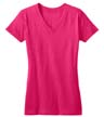 DT5501 - Ladies' V-Neck Tee