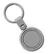 I-SMS-CG-3012 - Rounded Two-Toned Key Tag