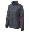 L330 - Ladies' Core Colorblock Wind Jacket