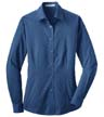 L613A - Ladies' Pattern Easy Care Shirt