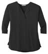 LK5433 - Ladies' Concept Soft Split Neck Top