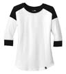 LNEA104 - Ladies' Heritage 3/4-Sleeve Raglan
