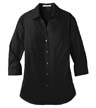 LW102 - Ladies' 3/4-Sleeve Carefree Shirt
