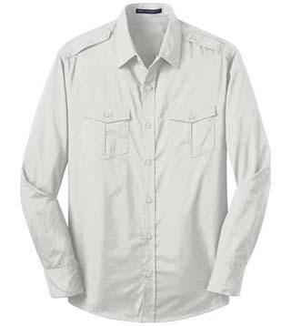 Men's Roll Sleeve Twill Shirt