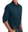 S649 - Men's Roll Sleeve Twill Shirt