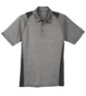 ST665A - Heather Colorblock Contender Polo