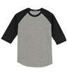 YT200 - Youth Colorblock Raglan Jersey