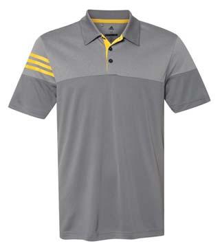 Heather 3-Stripes Shirt