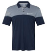 A213 - Heather 3-Stripes Shirt