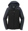 L335 - Ladies' Hooded Core Soft Shell Jacket