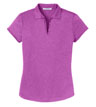 L576 - Ladies' Trace Heather Polo