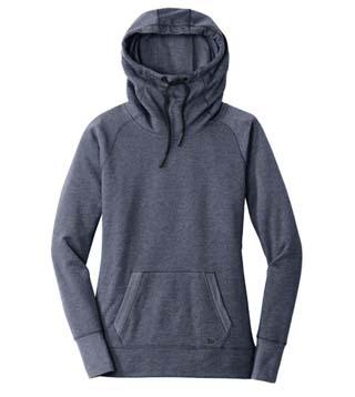 Ladies' Tri-Blend Fleece Pullover Hoodie