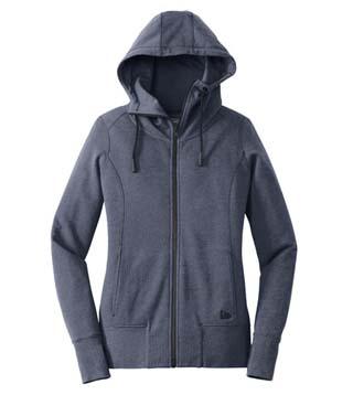 Ladies' Tri-Blend Full-Zip Hoodie