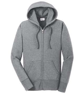 Ladies' Classic Full-Zip Hooded Sweatshirt